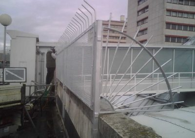 Anti Climb Barriers - A & M Fencing